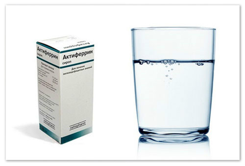 Феррум лек или актиферрин. Препараты железа (АТХ B03A) Актиферрин или феррум лек что лучше
