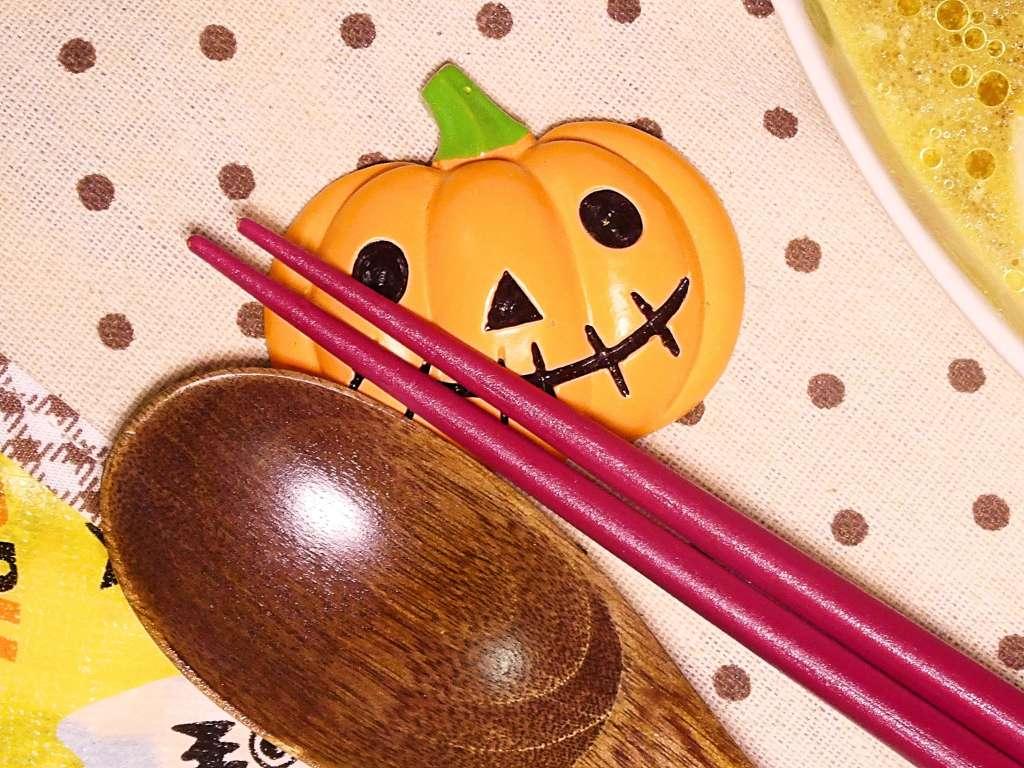 かぼちゃの箸置き