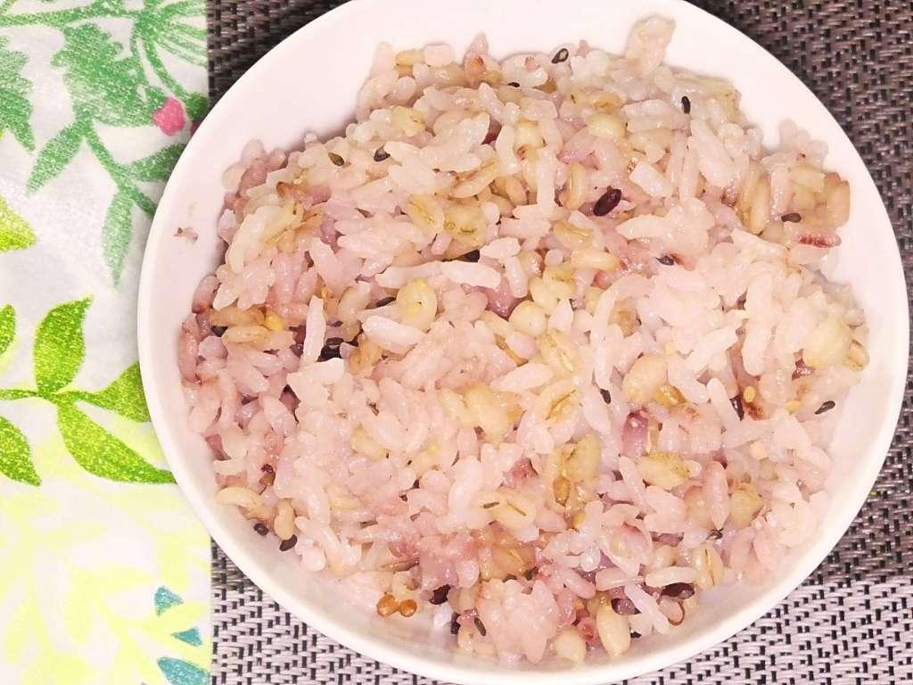 十六穀米入りご飯
