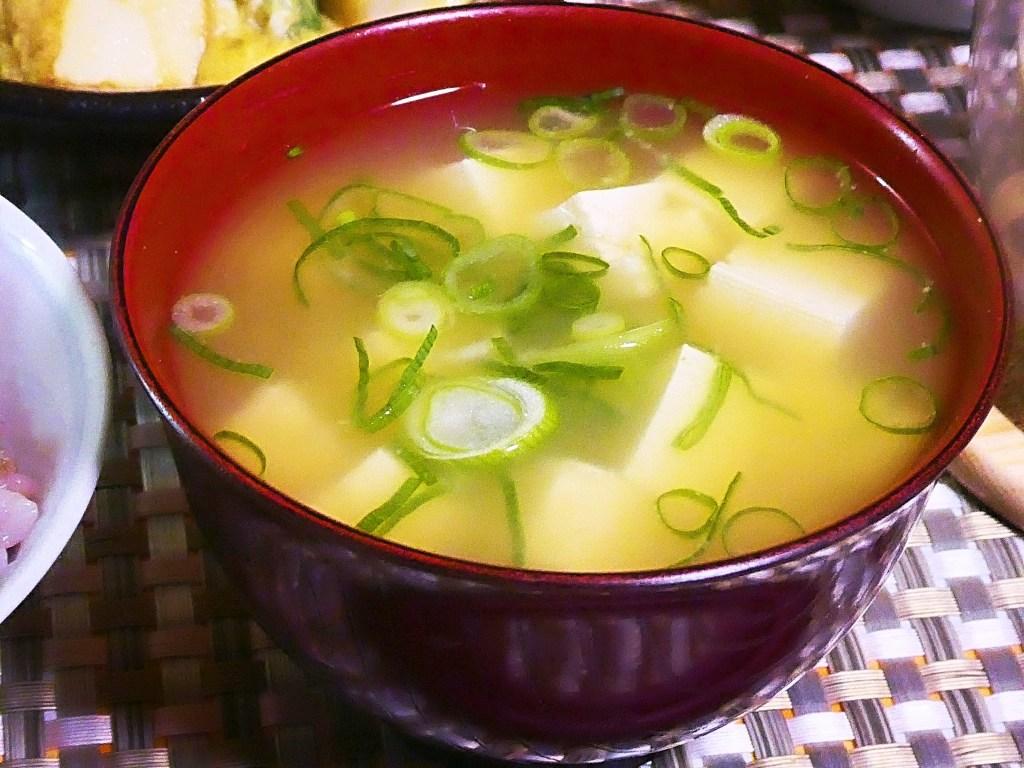 豆腐のお味噌汁