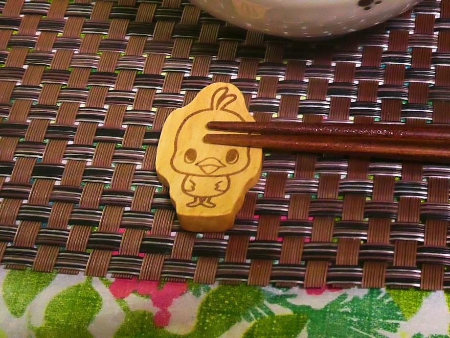 チキンラーメンひよこちゃんの箸置き