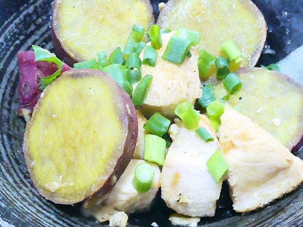 鶏胸肉とさつまいものこっくり煮