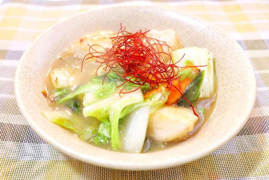 鶏胸肉と白菜のトロトロ炒め煮