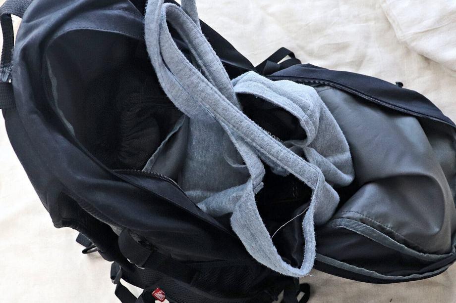コールマン リュック ウォーカー33 ジム用荷物