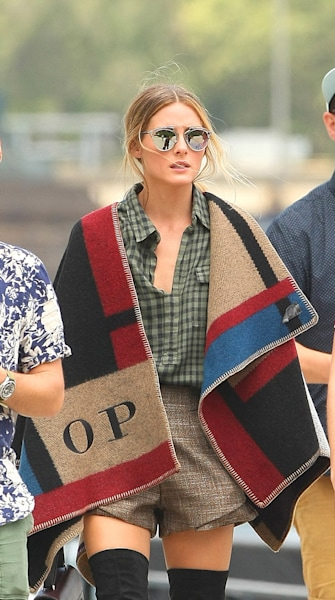 The trend report: Wear your blanket as a coat