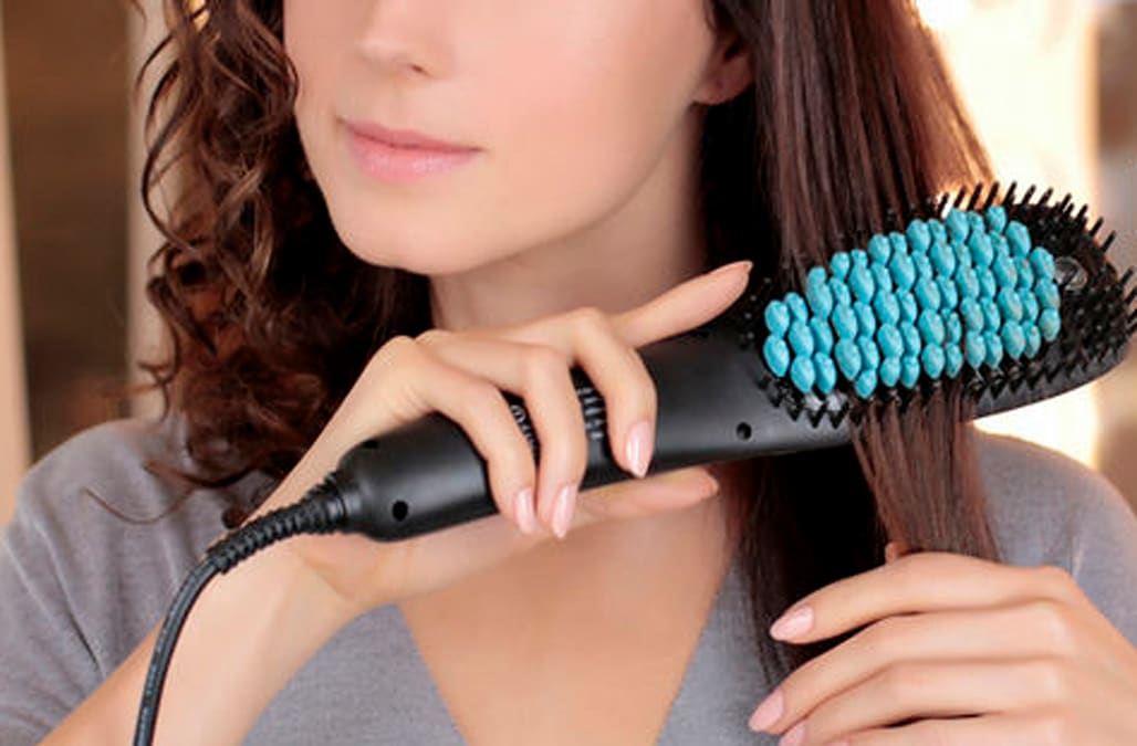 Shop This Video This Genius Brush Straightens Your Hair