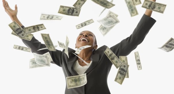 Image result for black man throwing money in the air