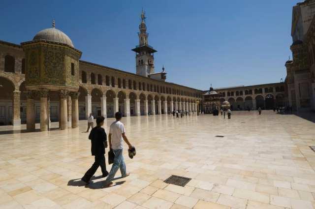 Syria, Damascus, Umayyad Mosque