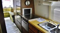 The Green Machine: a Vintage Motorhome with Style