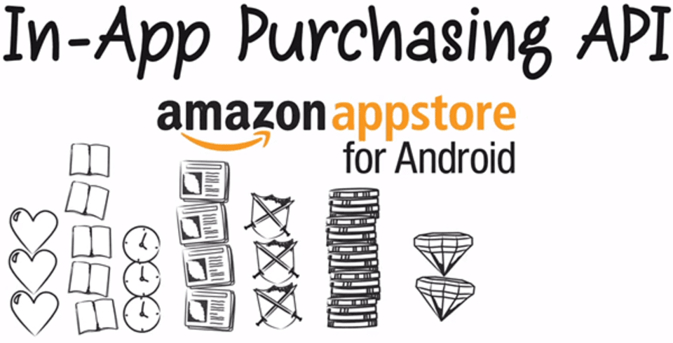 Amazon adds in-app purchasing to Appstore for Android