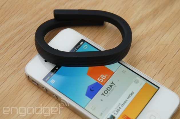 Jawbone Up coming to Android Wear, Apple HealthKit and Windows Phone