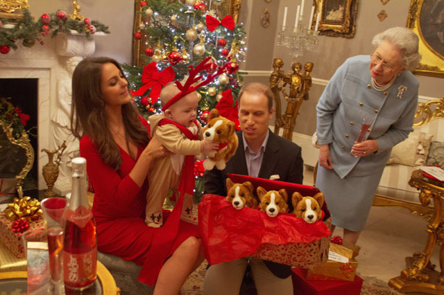 Festive Fun The Royal Family Celebrate Prince Georges