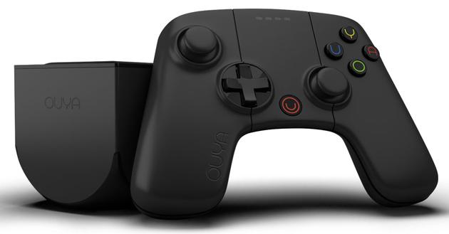 OUYA 16GB matte black console