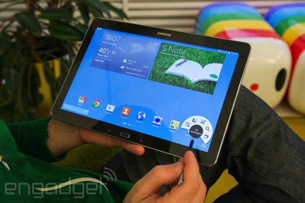 Samsung Galaxy Note Pro 12.2 review: a tablet that shows bigger isn't always better