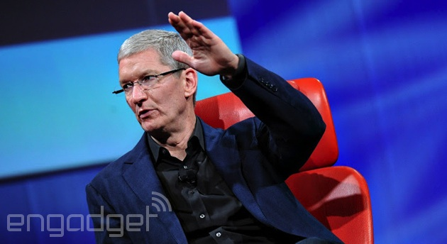 Apple's Tim Cook at the D11 Conference