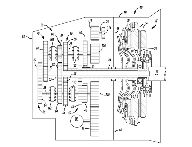GM files patent for 7-speed DCT, is it headed for Corvette?