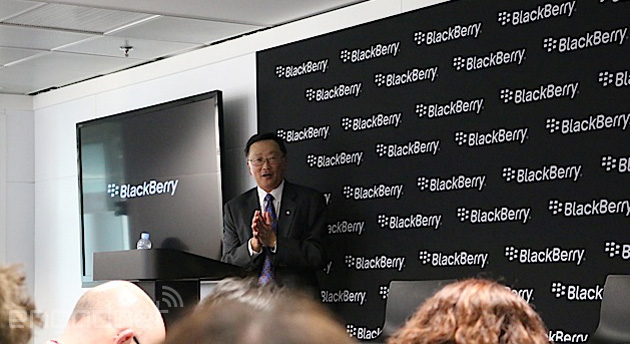 BlackBerry's John Chen at Mobile World Congress