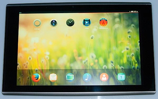 Mozilla publica más detalles sobre el primer tablet Firefox OS