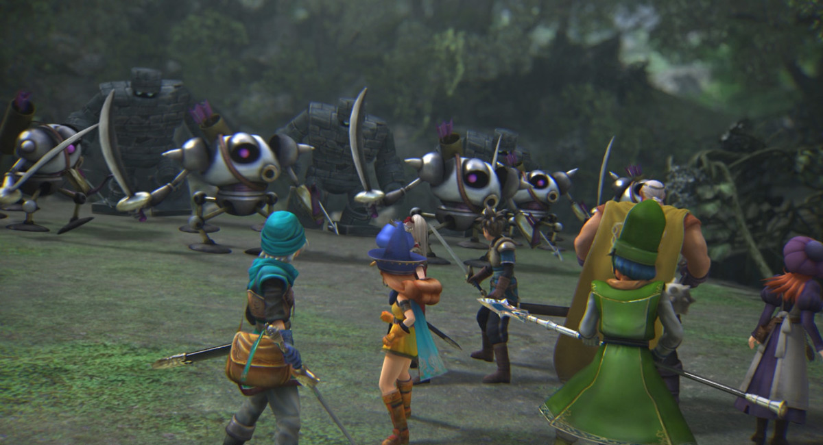 'Dragon Quest Heroes: The World Tree's Woe and the Blight Below'