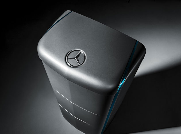 Mercedes' home battery