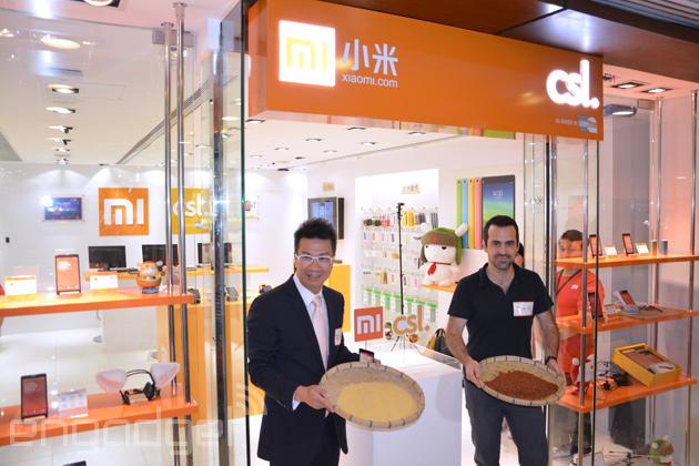 小米與香港 csl 開設專門店,虎哥保證會有充足貨源