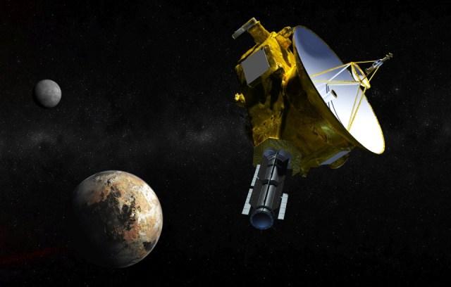 NASA's New Horizons probe near Pluto