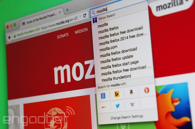 Lultimo aggiornamento di Firefox rende ad Yahoo lopzione predefinita di ricerca