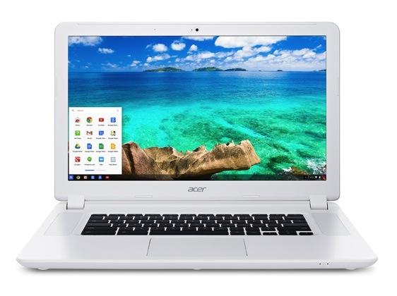 Il Chromebook 15 di Acer è il più grande Chromebook ancora