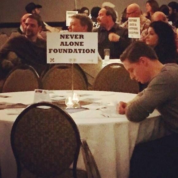funny ironic photos, irony photos, ironic never alone foundation