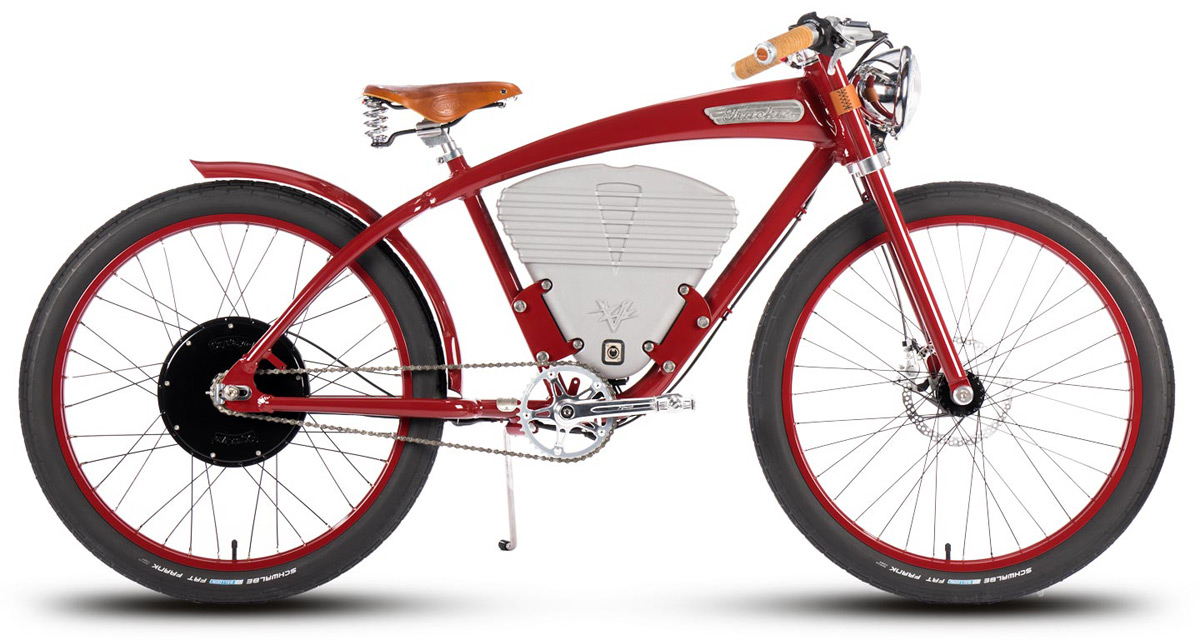 Lultima e bici elettrica dannata vi dà il potere più retro