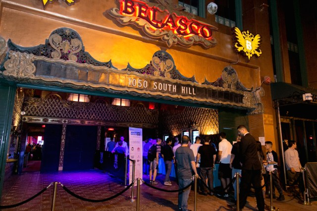 Engadget Live in Los Angeles at Belasco