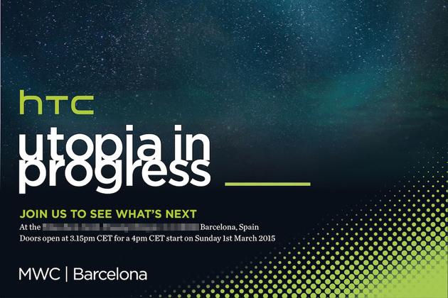 HTC presentará el sustituto del One el 1 de marzo