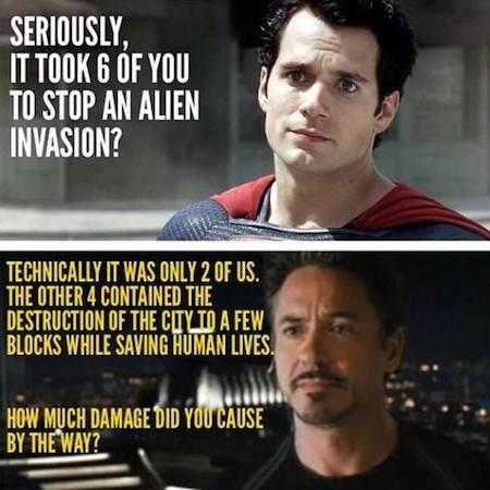 superheroes being aholes, iron man v superman