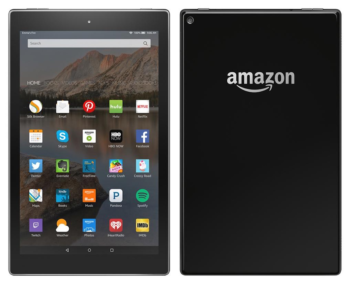 Amazon 10-inch Kindle Fire