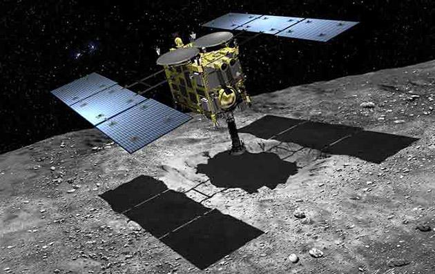 Il veicolo spaziale del Hayabusa 2 del Giappone presto inizierà il suo viaggio di unad unasteroide ricca di carbonio
