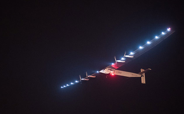 Solar Impulse takes off in China