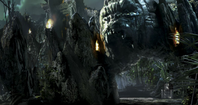 Skull Island: Reign of Kong entrance