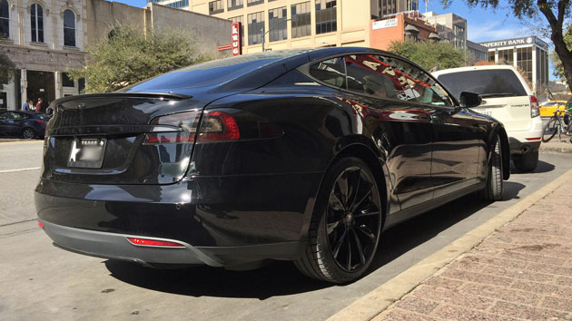 Tesla Model S in Texas