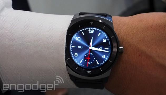LG G Watch R, aka the Gwatcher
