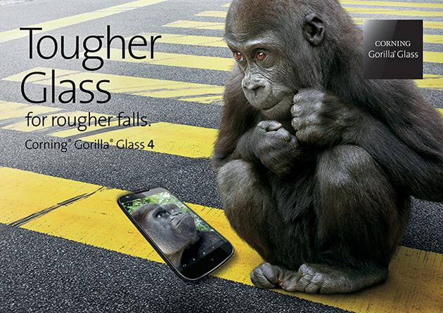 Il vetro 4 della gorilla non dovrebbe rompersi quando cadete il vostro telefono