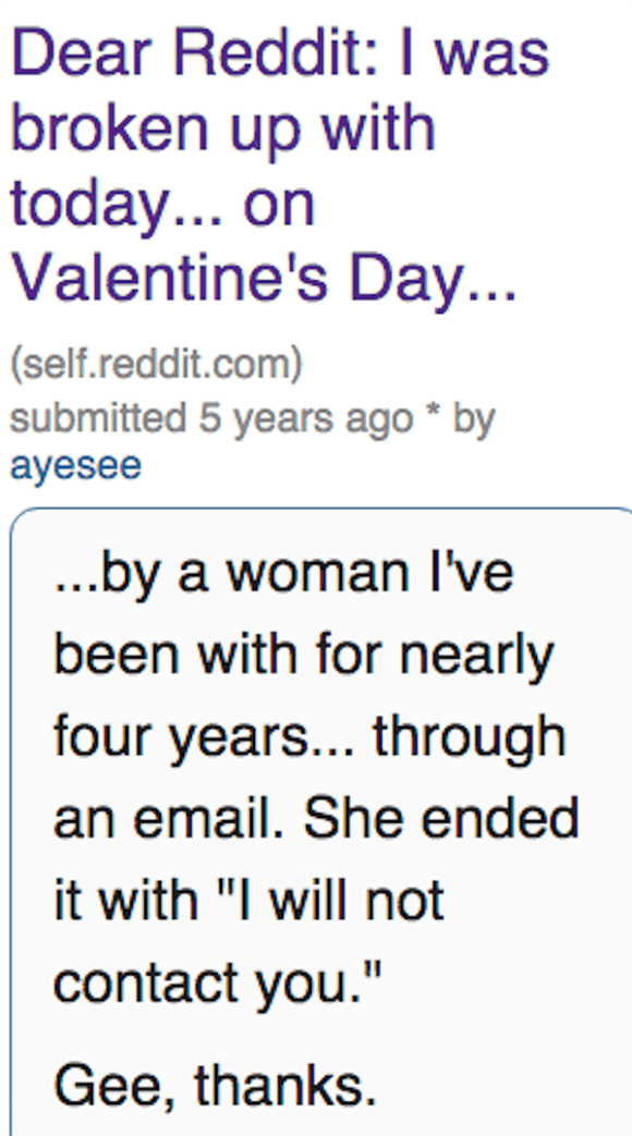 Valentine Day's Horror Stories Reminds Us Love Isn't Always Nice