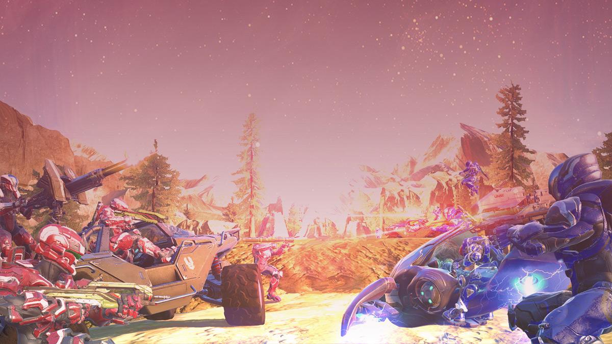 Big Team Battles in 'Halo 5'