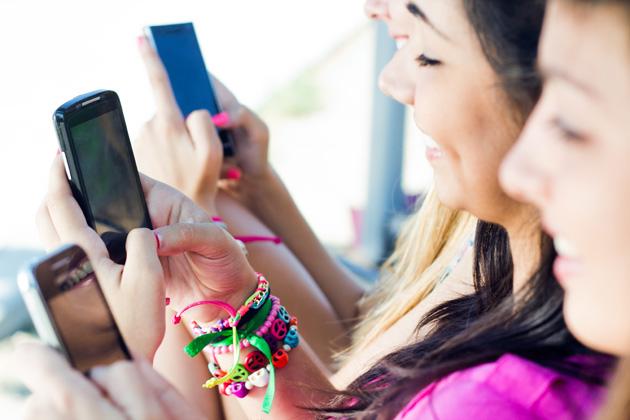 Il vostro smartphone sta cambiando il modo il vostro lavoro delle dita