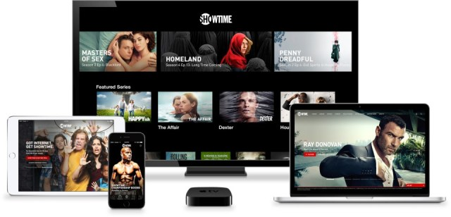Showtime stand-alone on many devices