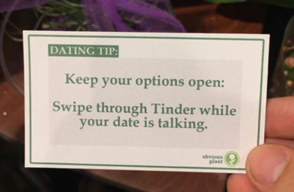 unny, Sex and Dating, Hilarious Free Dating Advice, Obvious Plant