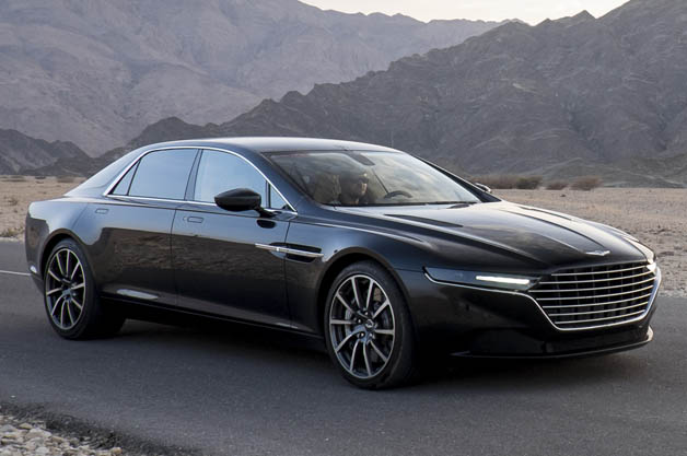 Aston Martin Tests New Lagonda Supersedan In Oman