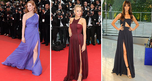 Trend Report: The thigh-high slit