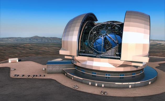 Il telescopio estremamente grande di Europa sulla pista per osservare luniverso da ora al 2024
