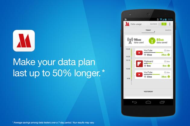 Lopera massima può ora conservare i dati mobili di androide in 16 nuove regioni