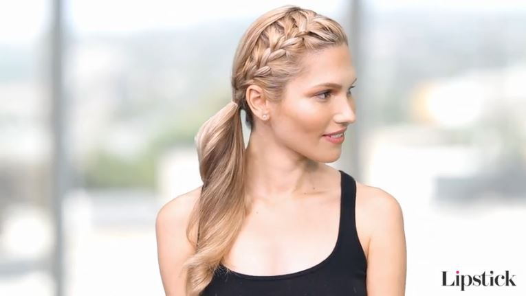 Cute Hairstyles For The Gym Cute Hair Trend 2017